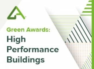 Green Awards: High Performance Buildings 2018