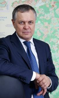 Vladimir Zhidkin, Head of the Department for the development of new territories of Moscow